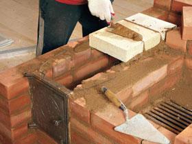 строим печь камин своими руками