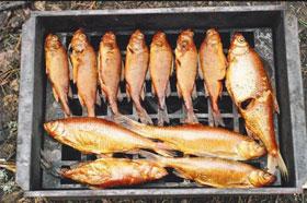 при копчении рыбы она сохраняет все витамины и естественный вкус