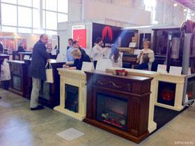 В 2011 году выставка каминов привлекла более 25 тысяч посетителей